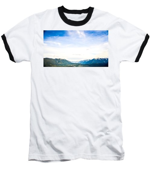 Rattlesnake Ledge 3 Baseball T-Shirt