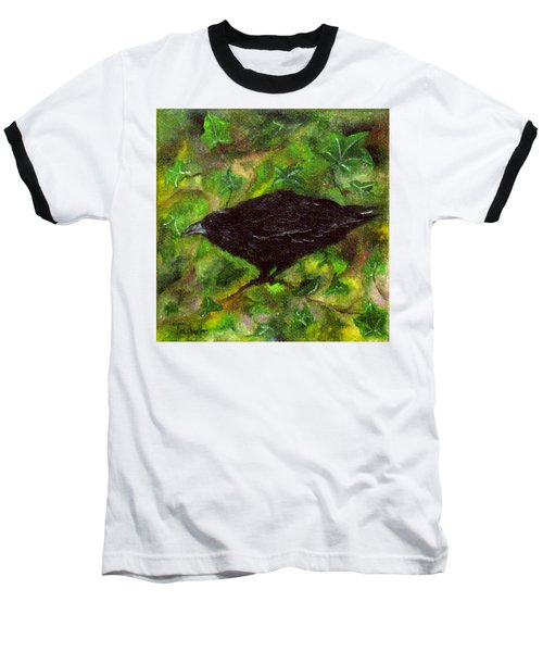 Raven In Ivy Baseball T-Shirt