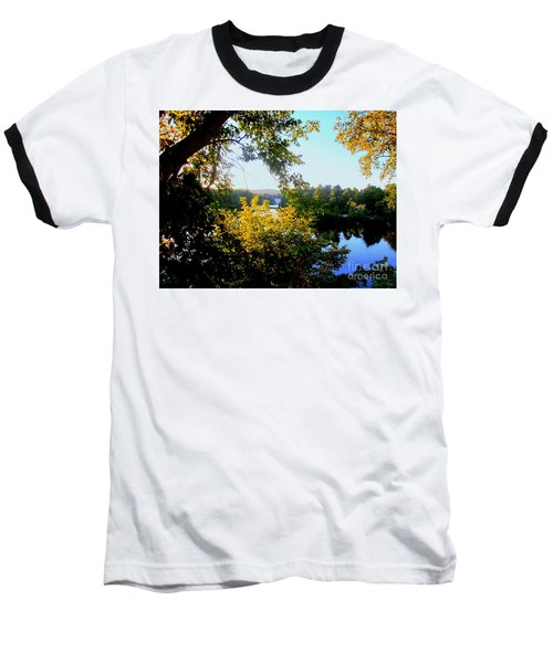 Baseball T-Shirt featuring the photograph Rawdon by Elfriede Fulda