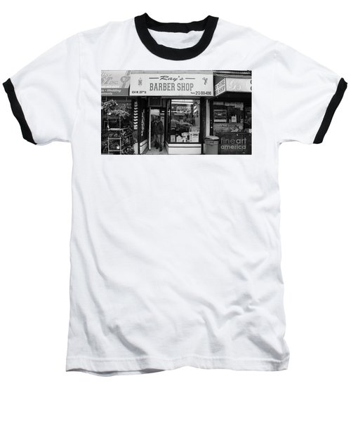 Ray's Barbershop Baseball T-Shirt