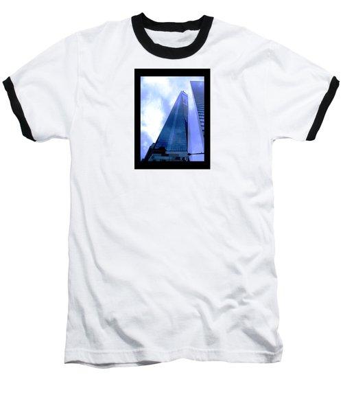 Baseball T-Shirt featuring the photograph Reach For The Sky. by Steve Godleski