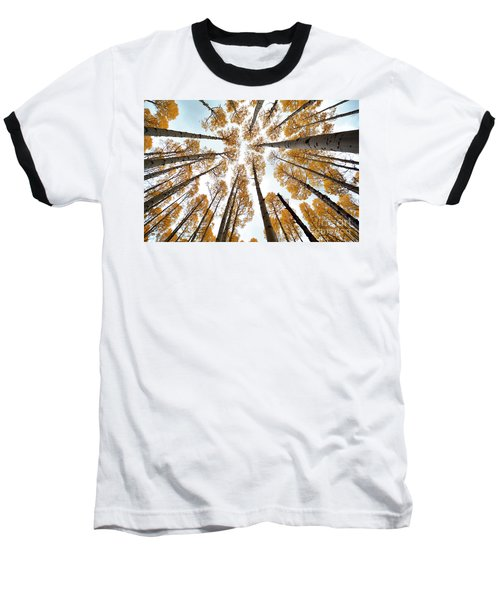 Reaching The Sky Baseball T-Shirt