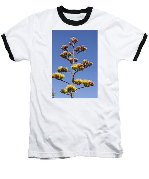 Reaching To The Sky Baseball T-Shirt by Laura Pratt