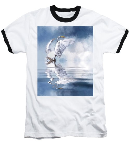 Ready For Take Off Baseball T-Shirt by Cyndy Doty
