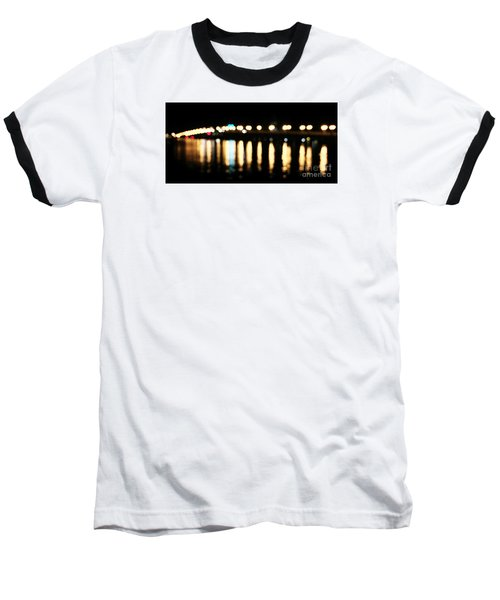 Bridge Of Lions -  Old City Lights Baseball T-Shirt