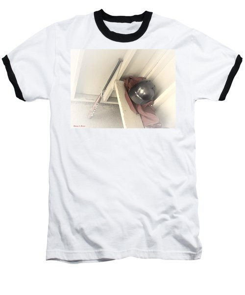 Baseball T-Shirt featuring the photograph Ready To Bat by Shana Rowe Jackson