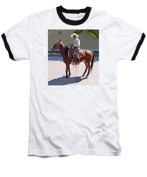 Real Cowboy Baseball T-Shirt