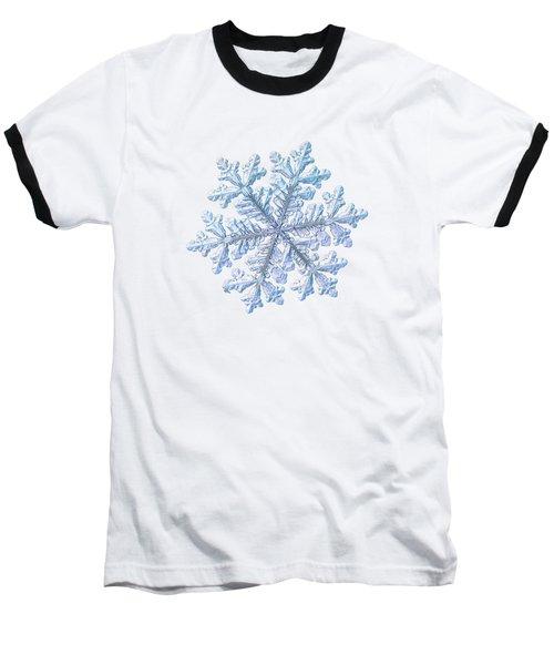 Real Snowflake - Hyperion White Baseball T-Shirt
