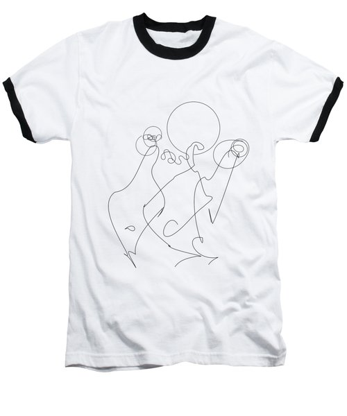 Really Loose Drawing 2 Baseball T-Shirt