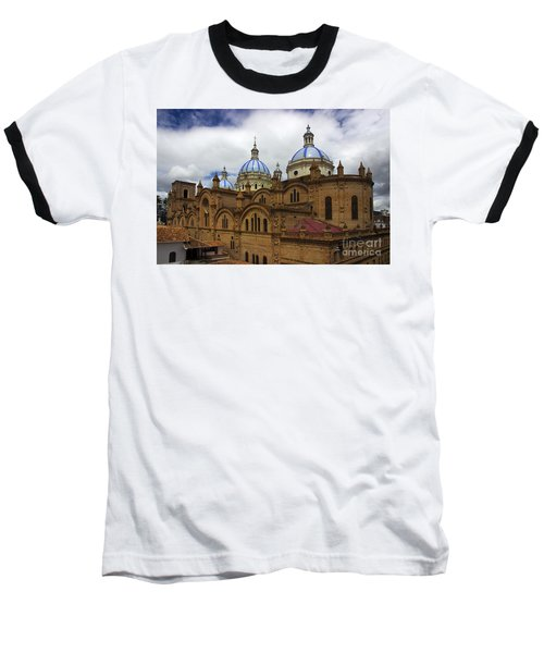 Rear Corner View Of Immaculate Conception Cathedral Baseball T-Shirt