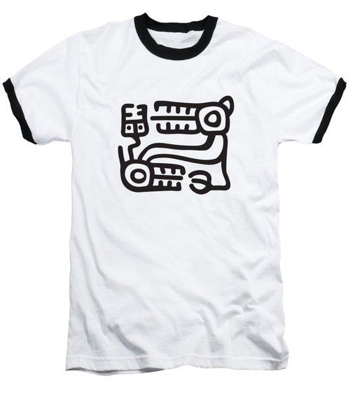 Recuay Culture Motif Baseball T-Shirt