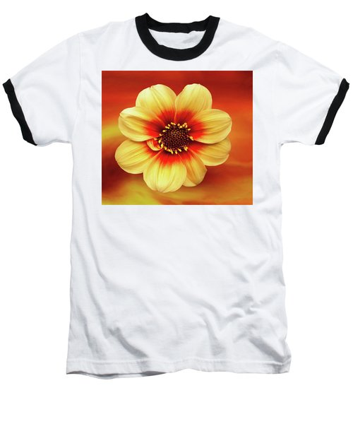 Red And Yellow Inspiration Baseball T-Shirt