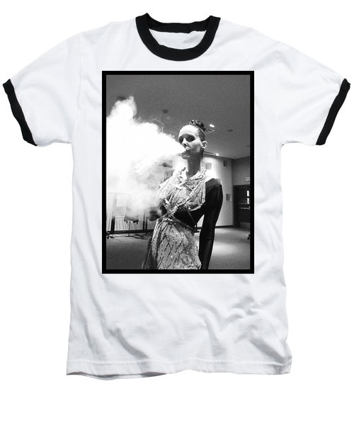 Baseball T-Shirt featuring the photograph Red Carpet Vapeing  by Lisa Piper