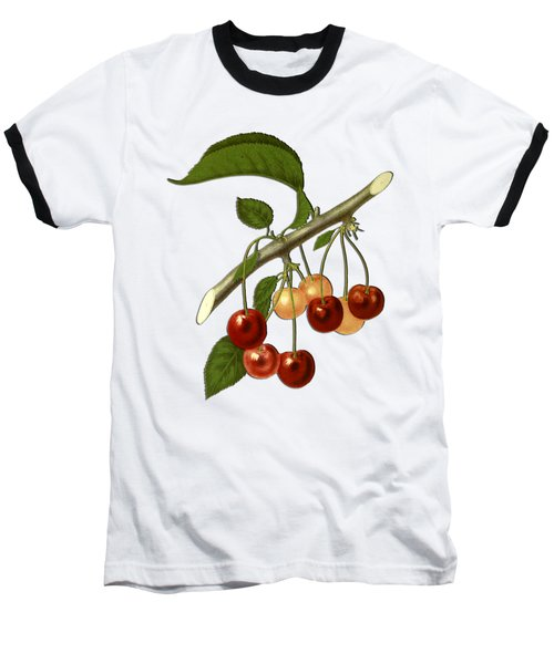 Red Cherries Baseball T-Shirt