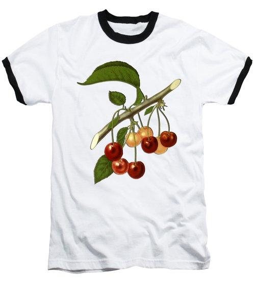 Red Cherries Baseball T-Shirt