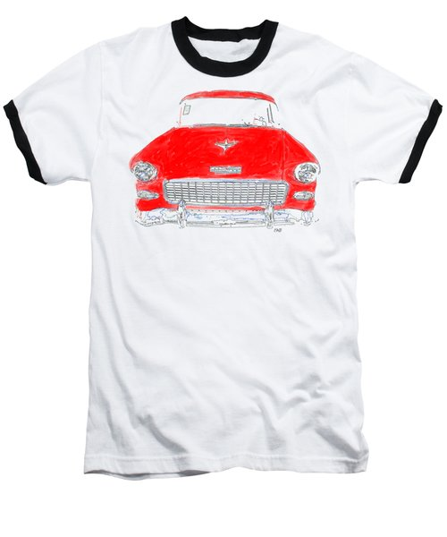 Red Chevy T-shirt Baseball T-Shirt