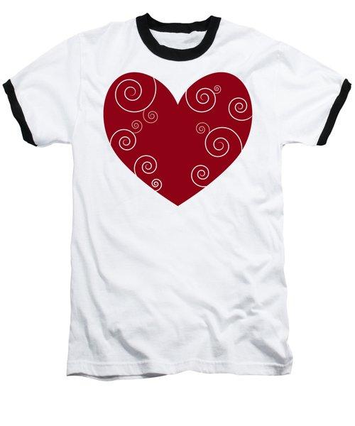 Red Heart Baseball T-Shirt