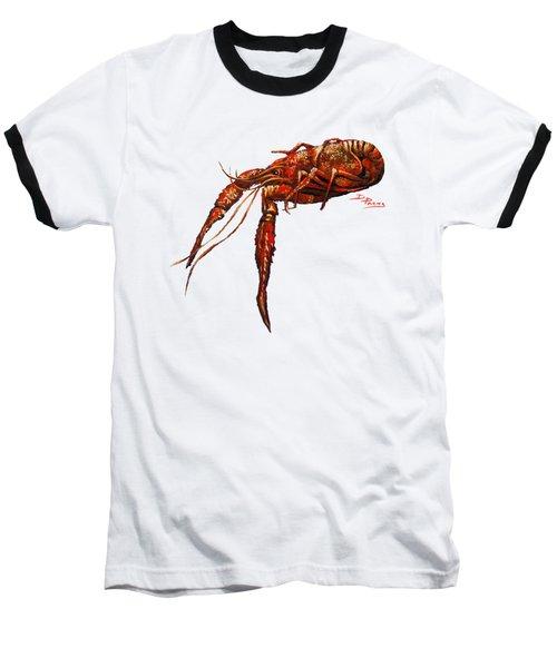 Red Hot Crawfish Baseball T-Shirt