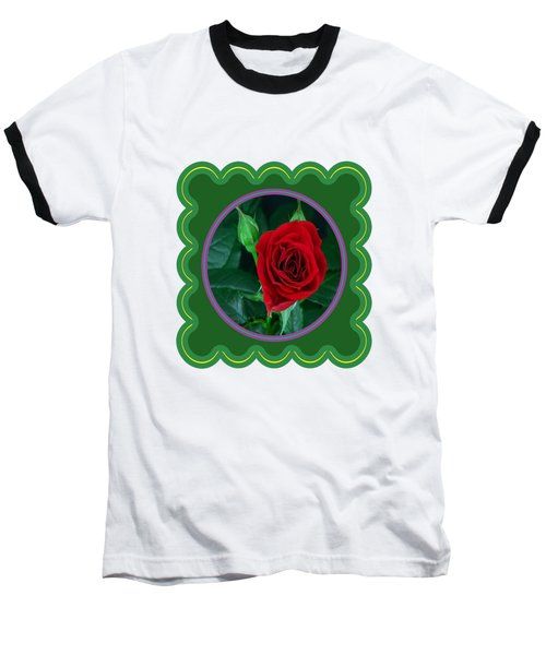 Red Rose Flower Floral Posters Photography And Graphic Fusion Art Navinjoshi Fineartamerica Pixels Baseball T-Shirt