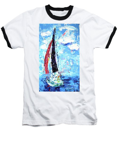 Red Sail Baseball T-Shirt