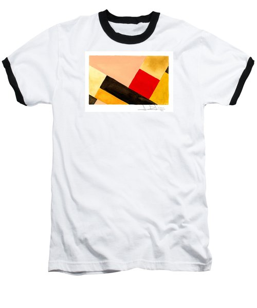 Red Square Baseball T-Shirt