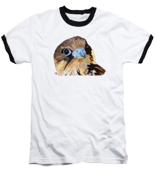 Red-tailed Hawk Portrait Baseball T-Shirt