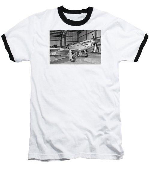 Red Tails Mustang Baseball T-Shirt