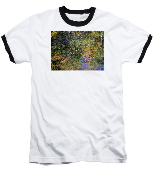 Reflected Glory Baseball T-Shirt by Tim Good