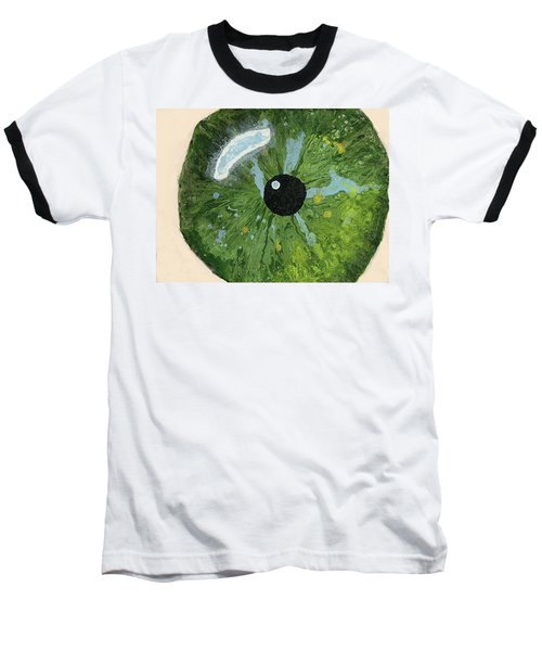 Reflected In The Eye Of A Child Never Born Baseball T-Shirt