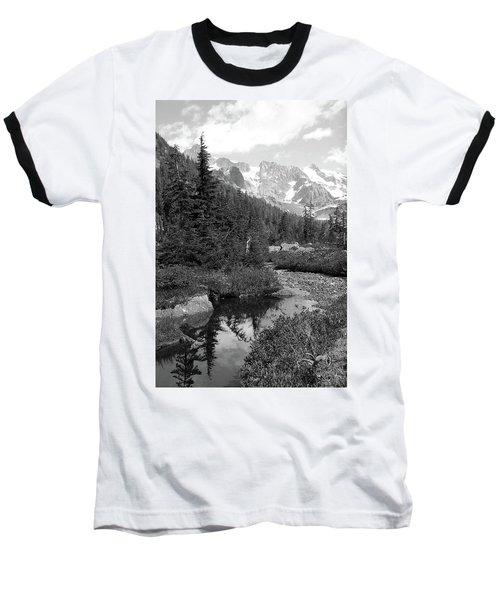 Reflected Pine Baseball T-Shirt