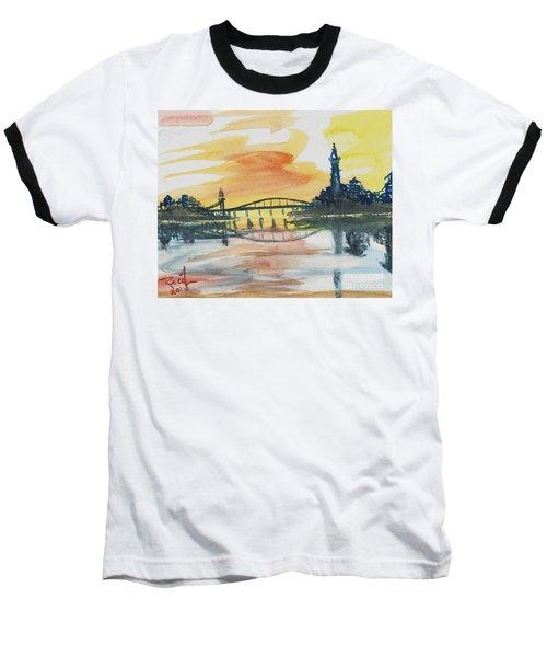 Reflecting Bridge Baseball T-Shirt