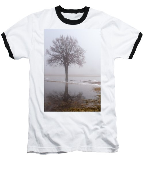 Reflecting Tree Baseball T-Shirt