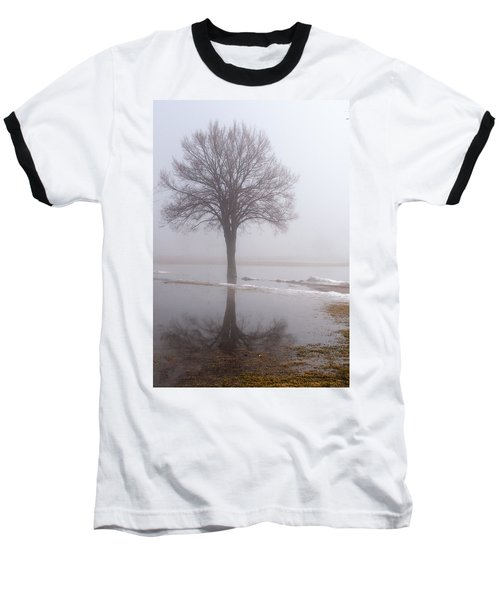 Reflecting Tree Baseball T-Shirt