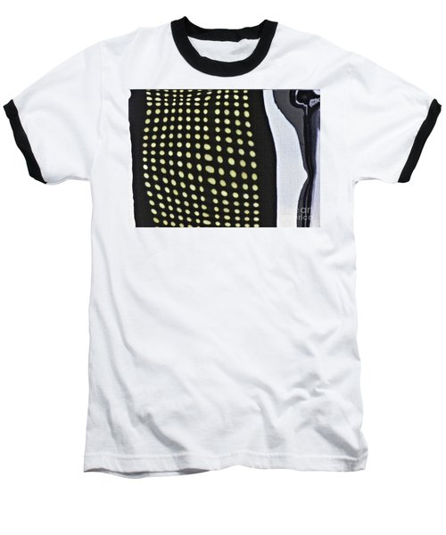 Baseball T-Shirt featuring the photograph Reflection On 42nd Street 1 by Sarah Loft
