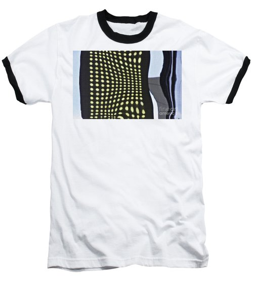 Baseball T-Shirt featuring the photograph Reflection On 42nd Street 2 by Sarah Loft