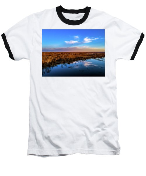 Reflection Pool Baseball T-Shirt