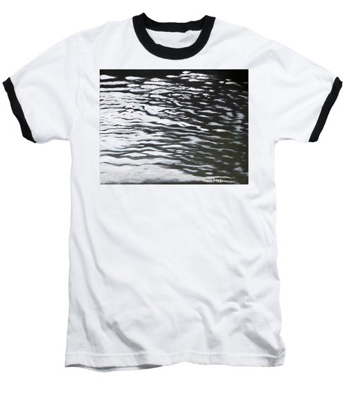 Baseball T-Shirt featuring the painting Reflections by Antonio Romero