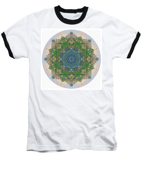 Reflections Of Life Mandala Baseball T-Shirt