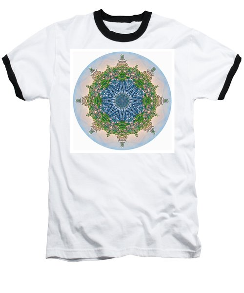 Reflections Of Life Mandala 2 Baseball T-Shirt