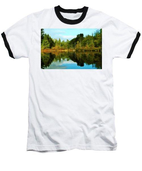 Reflections Baseball T-Shirt by Timothy Hack