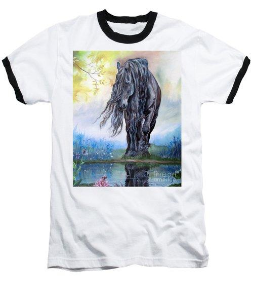 Reflective Beauty Baseball T-Shirt