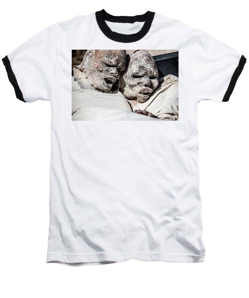 Refuges  Baseball T-Shirt by Patrick Boening