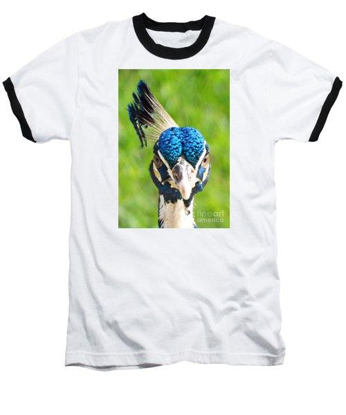 Regal Peacock Baseball T-Shirt