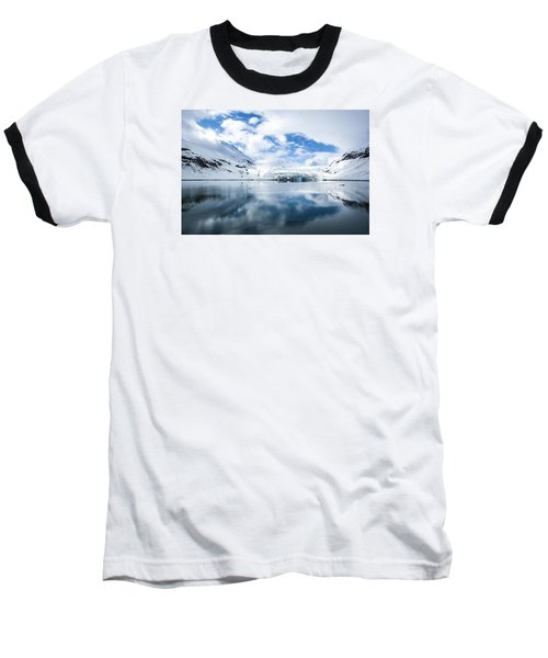 Reid Glacier Glacier Bay National Park Baseball T-Shirt