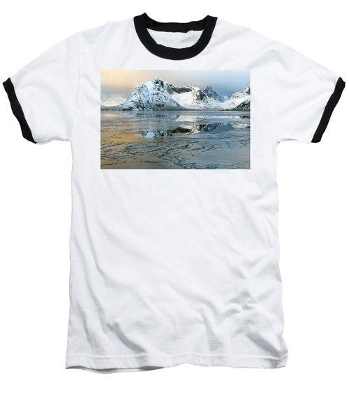 Reine, Lofoten 5 Baseball T-Shirt by Dubi Roman