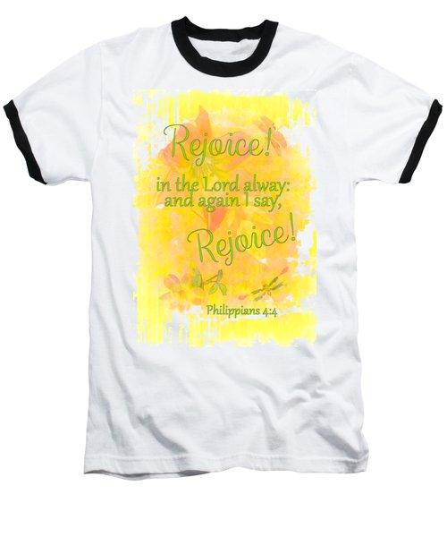 Rejoice Baseball T-Shirt