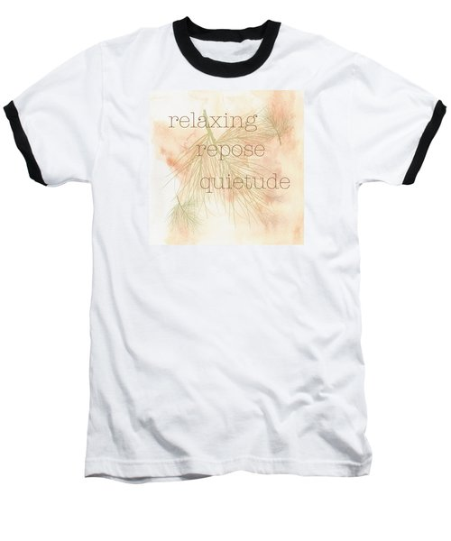 Baseball T-Shirt featuring the painting Relaxing by Kandy Hurley