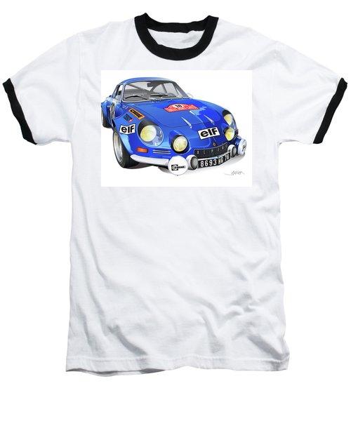Renault Alpine A110 Baseball T-Shirt