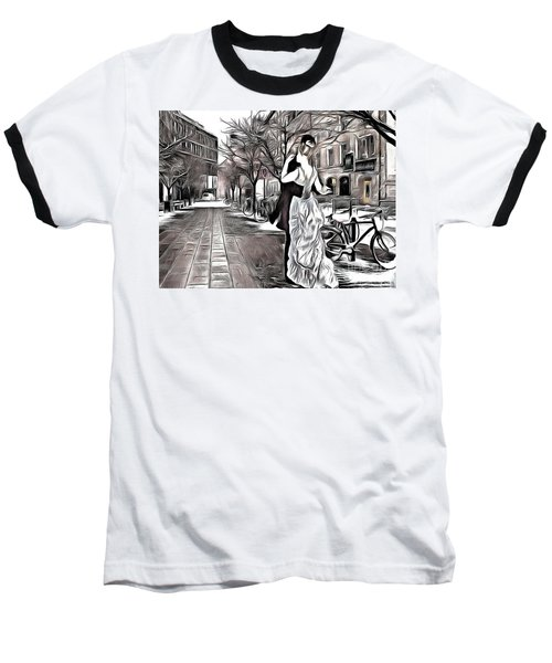 Renoir In Stokholm Collage Renoir Baseball T-Shirt