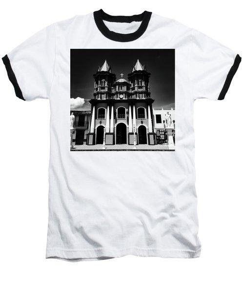 Replica Church In El Penol Baseball T-Shirt